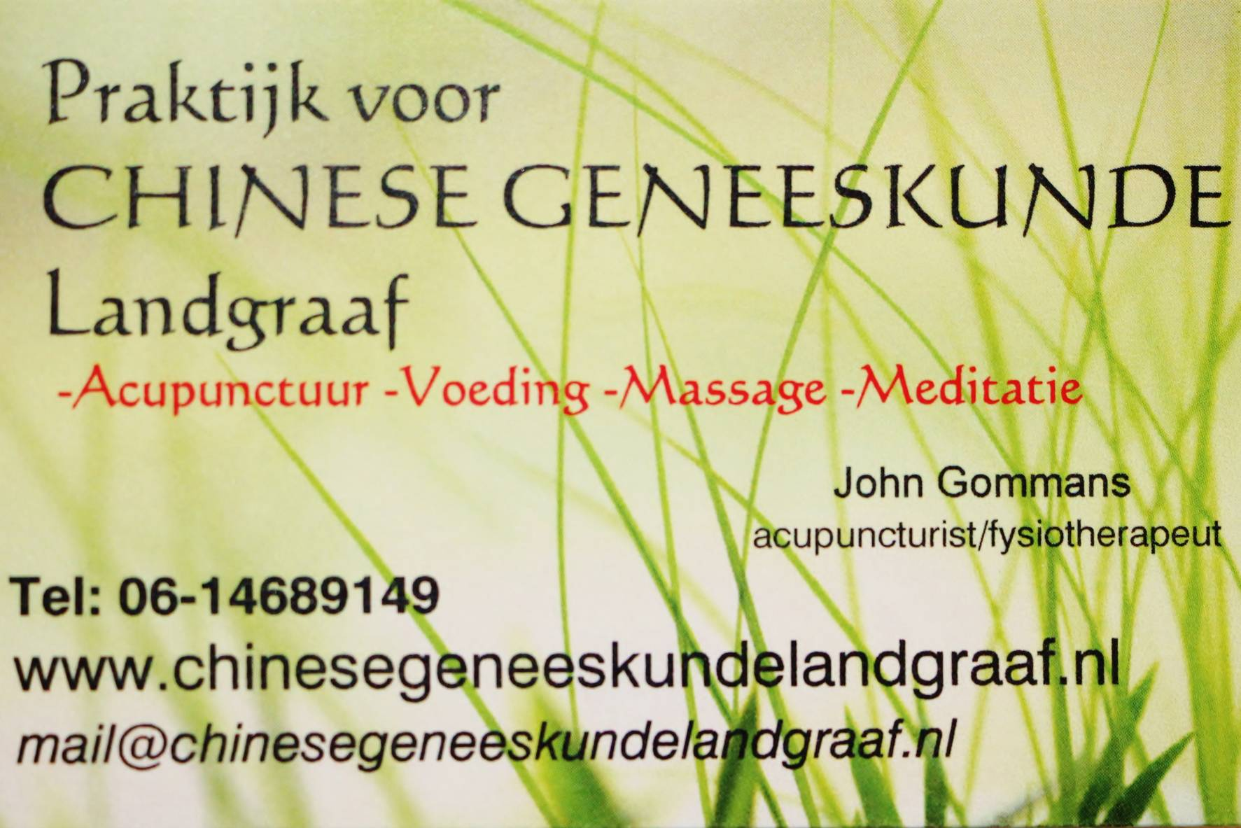 ervaren acupuncturist in Limburg